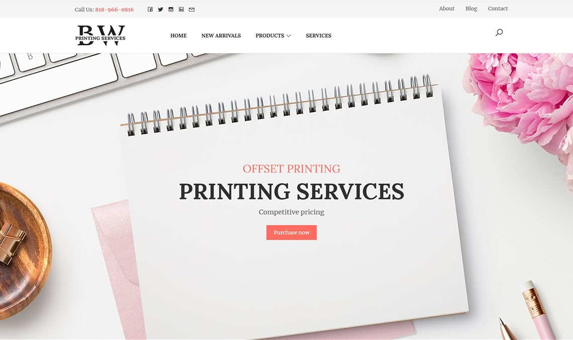 B&W Printing Services